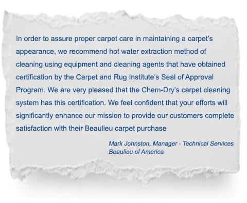 Chem-Dry Singapore Carpet Cleaning